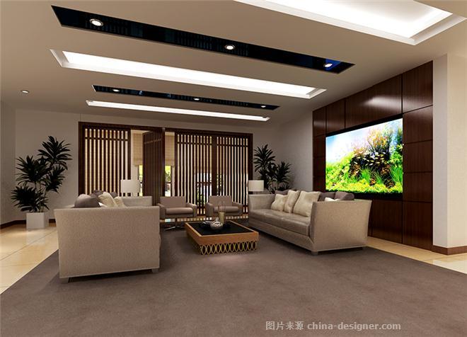 宝塔集团--内蒙古分公司办公空间-韩海燕的设计师