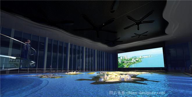珠海市高栏港经济区规划展览馆-周新华的设计师家园-展览馆