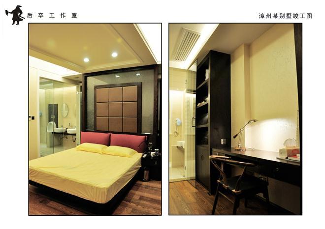 漳州东山岛私人别墅设计项目-吴恺俤的设计师家园-东南亚风格,书房