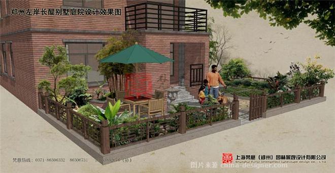 郑州私家别墅花园设计 郑州园林景观设计 梵意园林设计的设计师家园