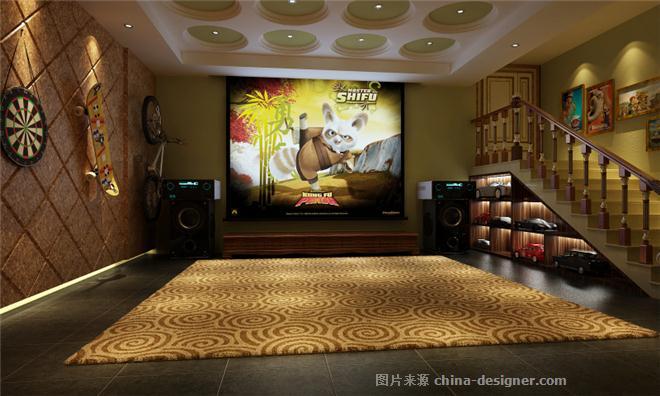 长岛花园别墅欧式古典风格设计-上海奥邦装饰设计