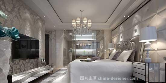 样板房装修设计精美效果-郑州美巢装饰的设计师家园-现代欧式,客厅,四