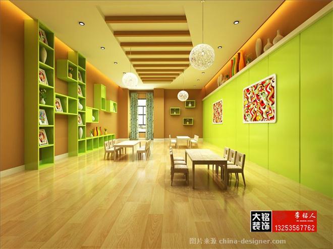 郑州幼儿园设计&幼儿园装修公司-郑州大铭装饰的设计师家园-幼儿园