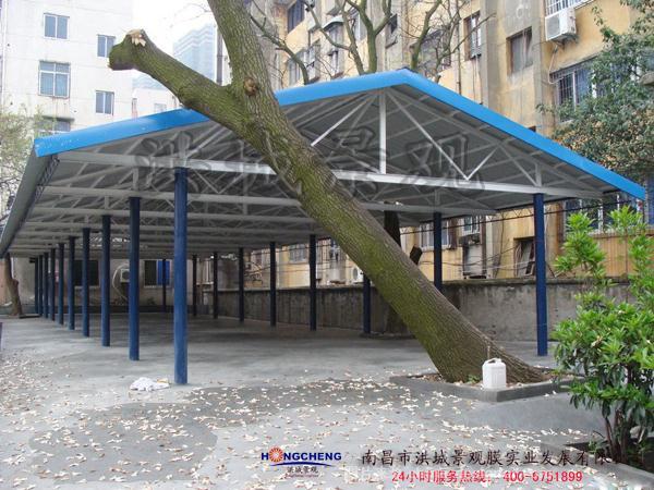 南昌西,火车站雨棚-南昌洪城景观膜实业发展有限公司