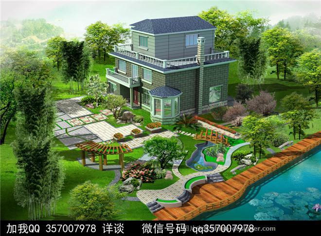 庭院景观设计案例图片