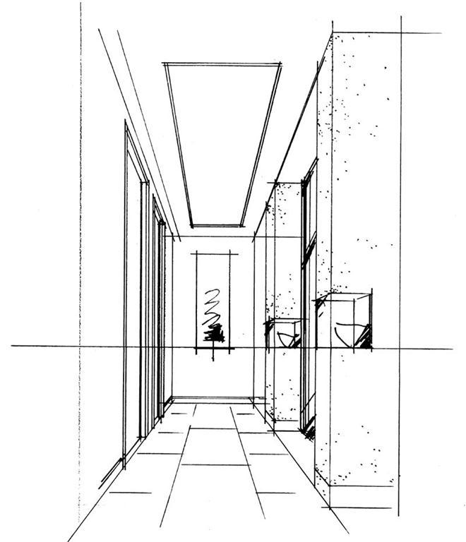 中式手绘卫生间
