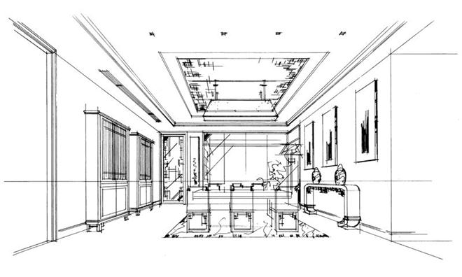 项目名称:南天名苑 项目地址:广州市番禺区 项目面积:310 设计理念: 以收藏及艺术品投资,影射出客人的高品质生活 中式传统融入新现代经典,强调独有的尊贵 室内有机结合室外,演绎360江景生活 项目背景 近40岁的成功人士,早年留学英国,热衷收藏及艺术品投资,一年有三至四个月居住香港及英国,强调家族传承及品质生活。 南天名苑前身为霍英东家族私宅,位于番禺区洛溪岛西端,与丫髻岛隔江相望,地理位置优越。项目位于岛尖,三面环江,享有广州极为稀缺的江景,项目以250-350平方米大户型及联排别墅为主。 会客厅
