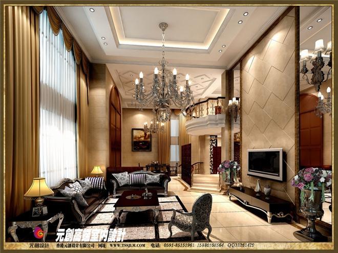 港头别墅欧式简约-俞兆鹏的设计师家园-独栋别墅