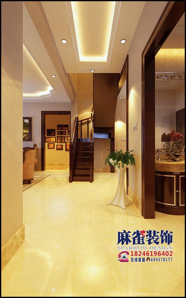麻雀装饰公司 咨询电话:18946109007的设计师家园-田园风格,古典欧式