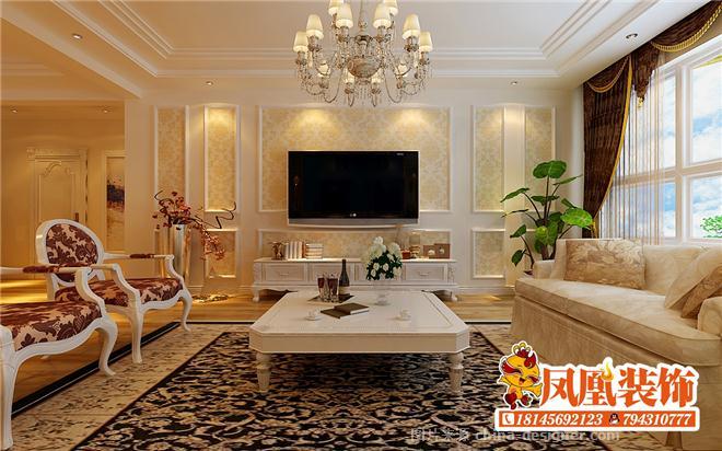 远大中央公园现代欧式-哈尔滨凤凰装饰公司