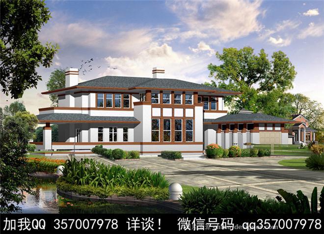 效果圖-室內設計師93的設計師家園-傳統中式,新中式,獨棟別墅,聯排