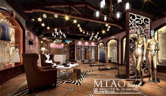 装修公司-服装店效果图设计-孟涛的设计师家园-商场/百货大楼/卖场