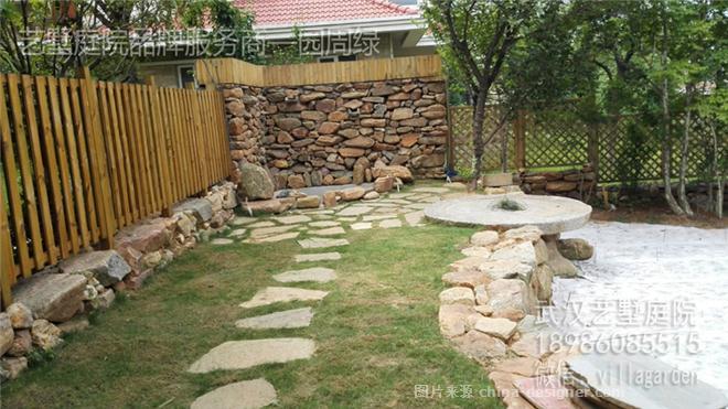 武汉私家花园别墅庭院谱写田园风-武汉园周绿景观设计有限公司的设计图片