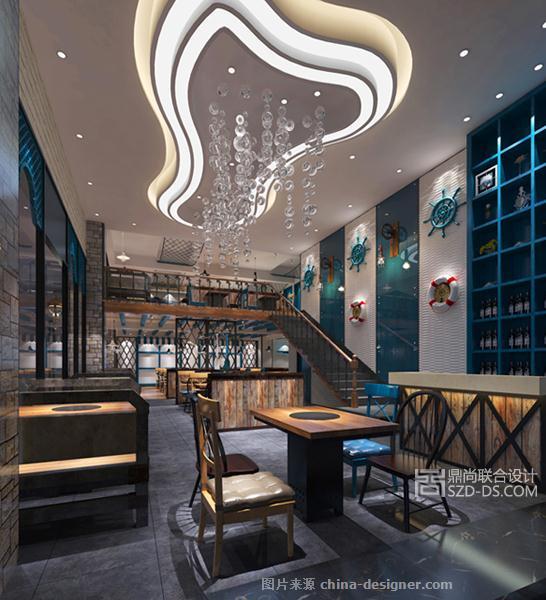 川菜火锅--重庆渔码头皇御苑店-章建军的设计师家园-民族特色餐馆
