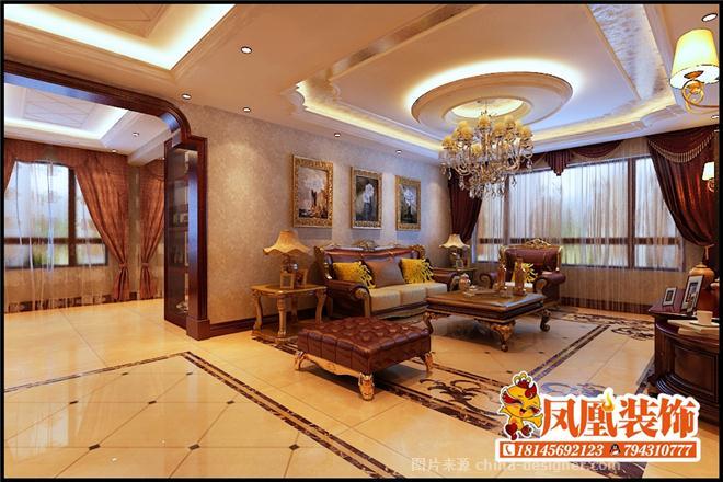 凤凰装饰公司 电话:18145692123的设计师家园-古典欧式,客厅,玄关