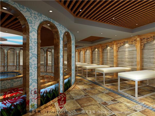 装修设计-哈尔滨盛和装饰工程有限公司的设计师家园-洗浴 哈尔滨浴池