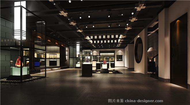 中式会所-林道明的设计师家园-展览馆图片