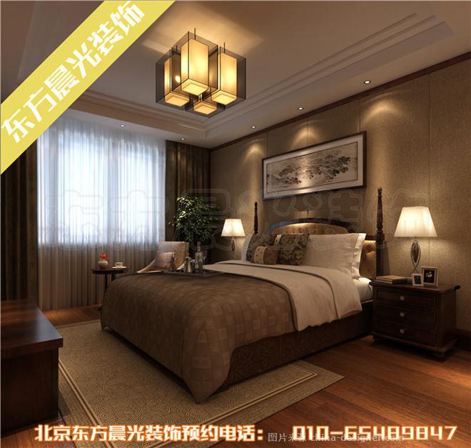 中式仿古四合院设计效果图 -北京东方晨光装饰有限公司的设计师家园图片