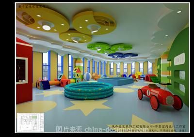 沣东第五幼儿园室内外设计-王沛霖的设计师家园-艺术区