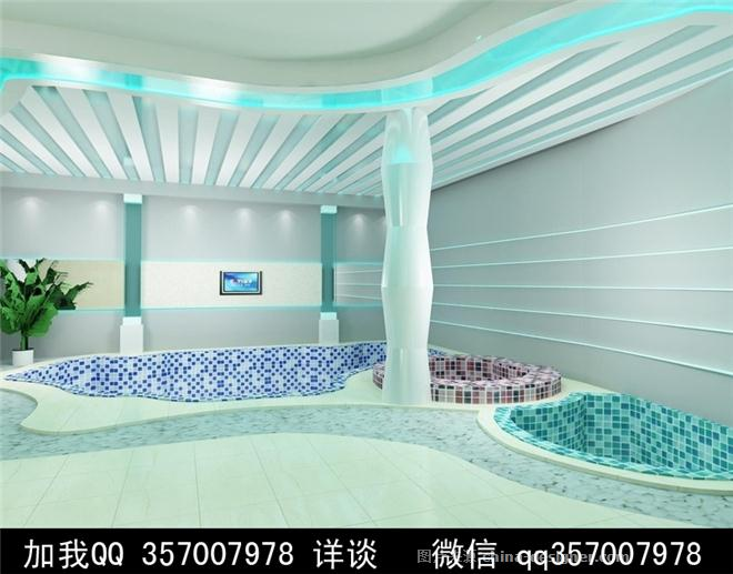 小型澡堂装修效果图