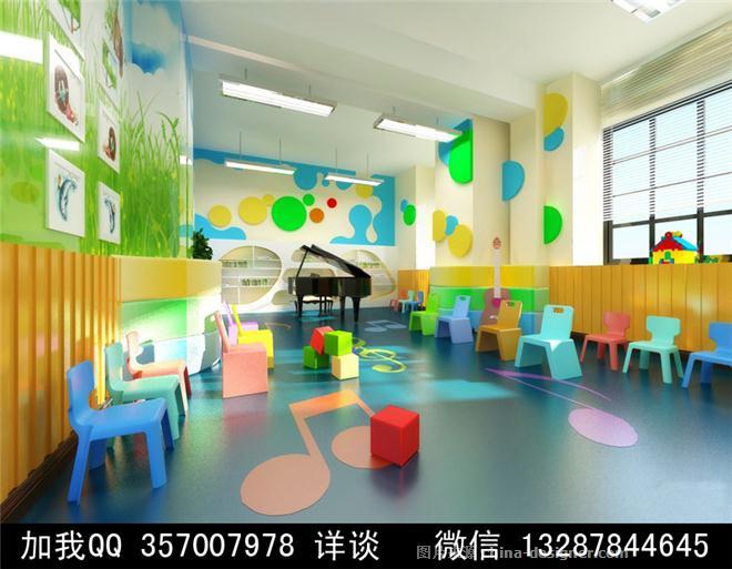 幼儿园设计案例效果图-室内设计师93的设计师家园