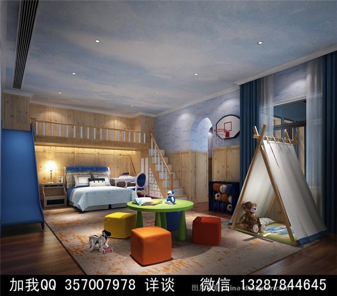幼兒園設計案例效果圖-室內設計師93的設計師家園