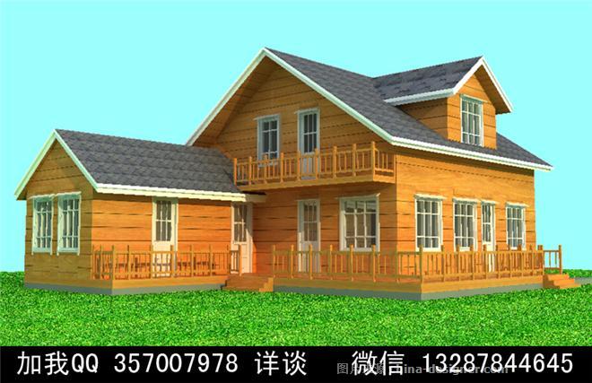 木结构别墅木屋设计案-室内设计师93的设计师家园