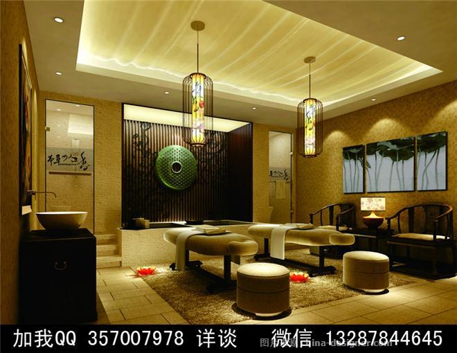 美容院设计案例效果图2-室内设计师93的设计师家园-美容包房 保健房