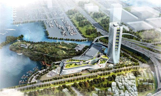 深圳盐田翡翠岛建筑方案设计施工图设计-北京中外