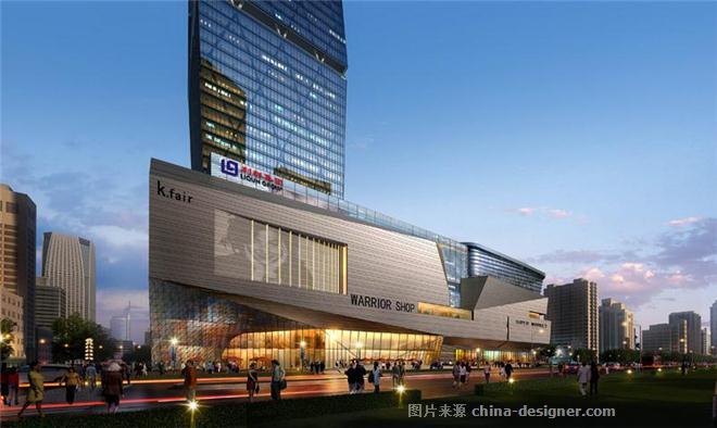 山东青岛利群黄岛总部建筑方案施工图设计-北京中外建筑设计有限公司