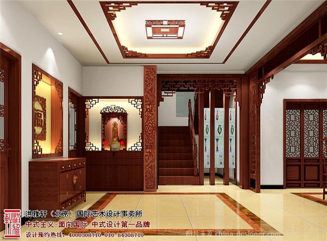 空中別墅,傳統中式,別墅中式裝修
