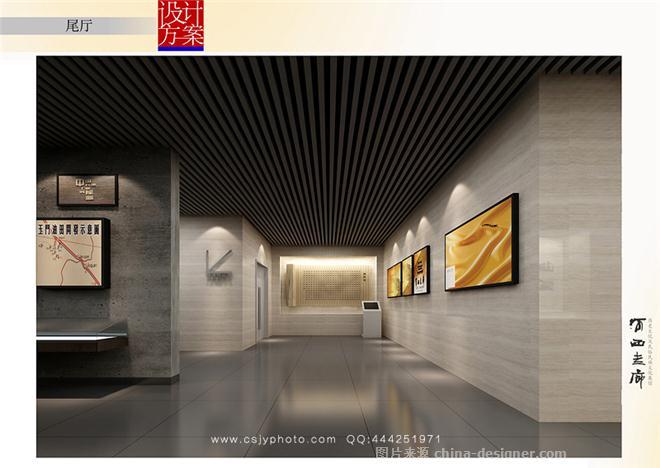 展览馆室内设计手绘分享展示
