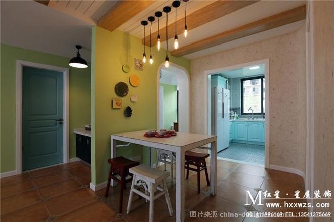 裝飾設計中心的設計師家園-三居,田園,黃色,白色,藍色,綠色,青春活力