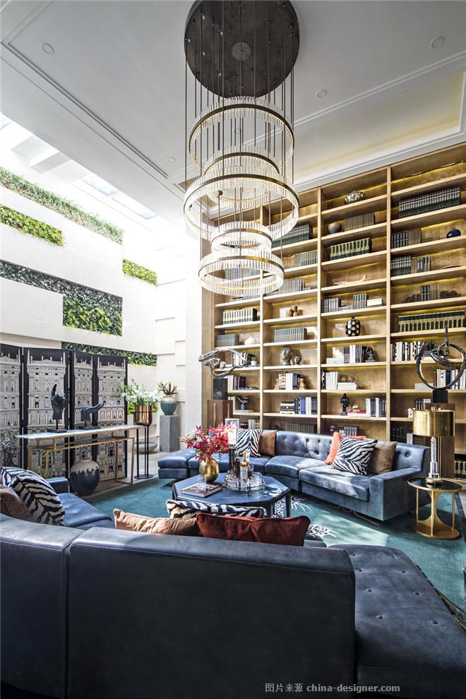 上海旭辉铂悦滨江C户型别墅-葛亚曦的设计师家园-独栋,后现代主义,奢华高贵