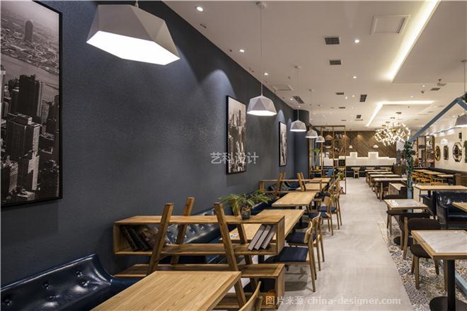 青岛餐厅设计装饰案例-赵秋平的设计师家园-茶餐厅,现代简约,闲静轻松