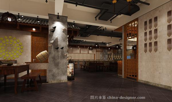 宽院子乡村菜馆-余飚的设计师家园-创意菜,农家菜,中餐厅,民族风格,原