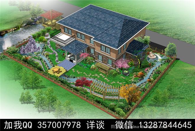 院子小花園設計圖小院子設計效果圖農村小院子設