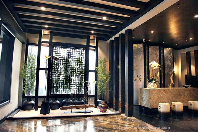 蜀霸王火锅餐厅-孔魏躲的设计师家园-火锅店,新中式,闲静轻松图片