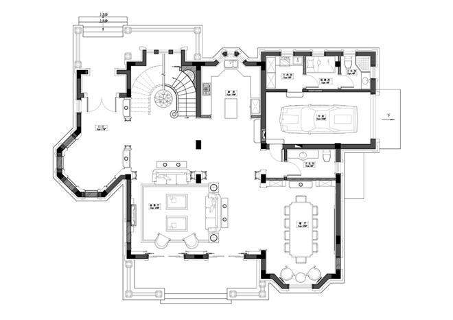 圣堡别墅-杨振兴的设计师家园-独栋,欧式,简约大气