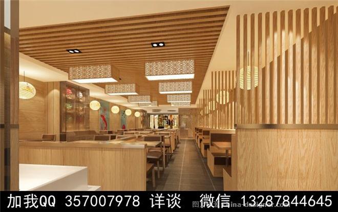 饺子馆设计案例效果图
