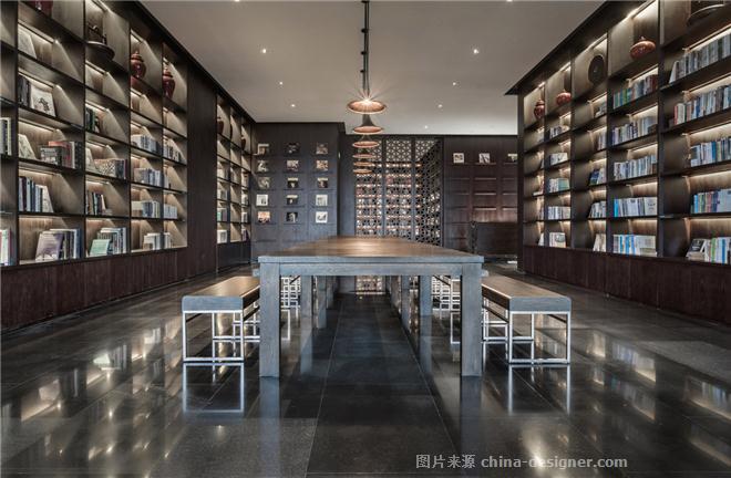 三亚中信半岛云邸会所-陈子俊的设计师家园-休闲会所,新中式,棕色,闲图片