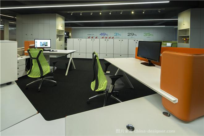 百利集团上海分公司活态空间体验馆-郭为成的设计师家园-办公区,公共区,现代简约,青春活力,彩色