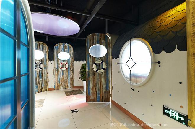 心仪蓝珊瑚蒸汽海鲜餐厅-倪泽的设计师家园-主题餐厅,混搭,其他气氛