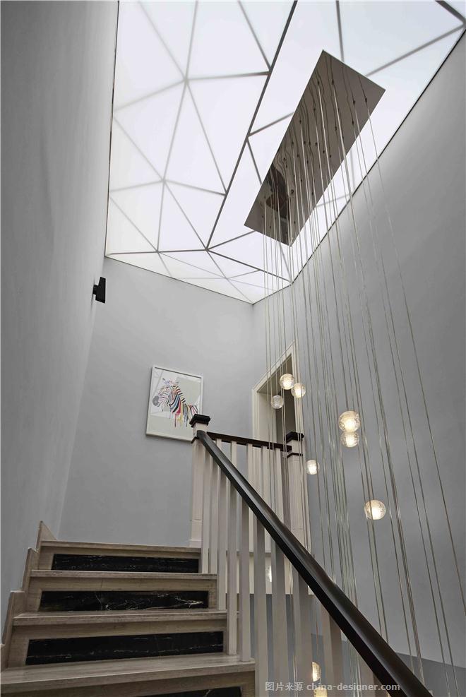 白描-梁栋的设计师家园-联排,现代简约,简约大气,沉稳庄重,闲静轻松