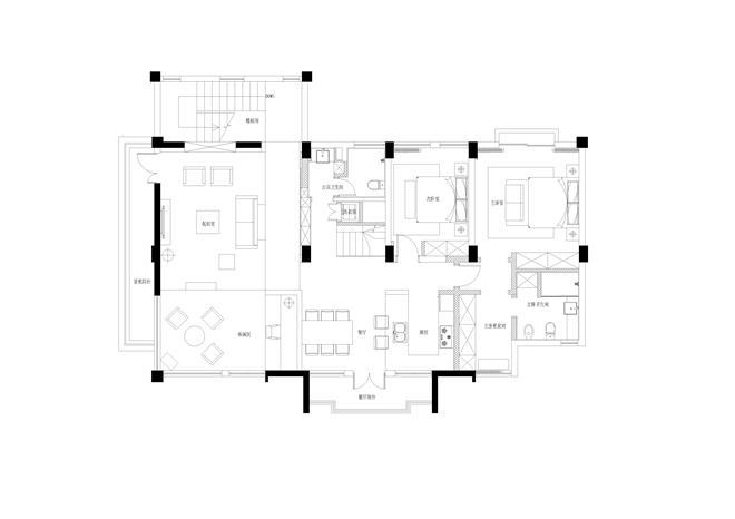 滇池畔的幸福-毛博的设计师家园-叠拼,北欧式,原生态,闲静轻松,灰色,白色
