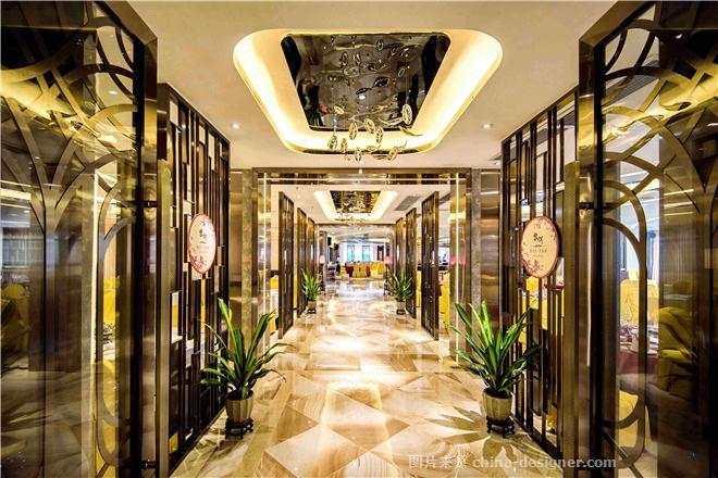 江门市玉湖御景酒店-吴宗建的设计师家园-中餐厅,新中式,宴会厅,高图片