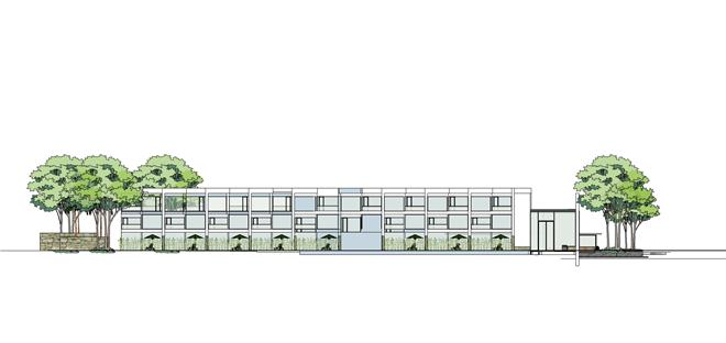 A、与同类竞争性物业相比,作品独有的设计策划、市场定位: 项目位于湖北省武汉东西湖东山农场,建筑面积6000平米左右,室内装饰部分总投资2000万元,属于建筑改造项目。 B、与同类竞争性物业相比,作品在环境风格上的设计创新点: 在原建筑的基础上我们改变了部分建筑进深、采光、功能需求及空间退让的关系,使原呆板的建筑变得生动。将原有的100间普通客房变为50间套房,增加原生态设计的庭院及辅助功能让空间及功能可以增值客房的性价比。 C、与同类竞争性物业相比,作品在空间布局上的设计创新点: 使用普通的石料、白色混