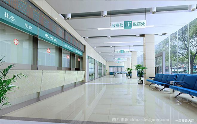 西安爱尔古城眼科医院-周茂才的设计师家园-医院 ,请选择,绿色