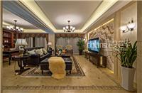 设计师家园-景枫法兰谷装修古典美式实景《绒情西雅图》