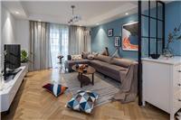 设计师家园-116�O北欧公寓・用蓝色惊艳时光